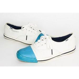Keds Kate Spade Dipped Cap Toe Sneaker Cobalt